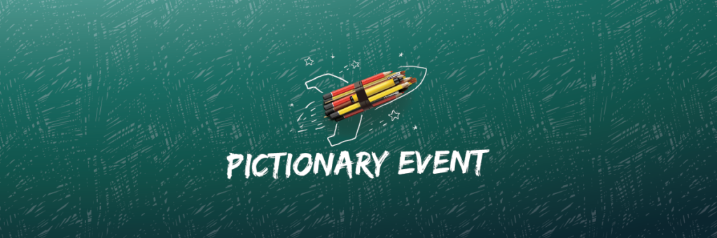 Pictionary Event Banner
