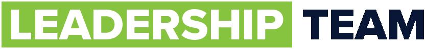 Leadership Team - newsletter strip banner