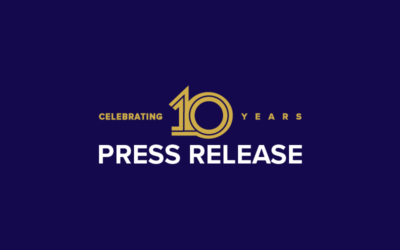 10th Anniversary - Press Release Banner