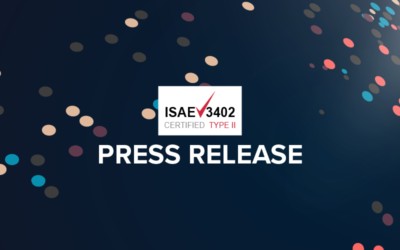 ISAE 3402 Press Release Banner