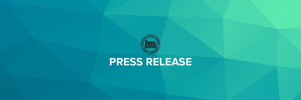 Inc5000 - Press Release Banner